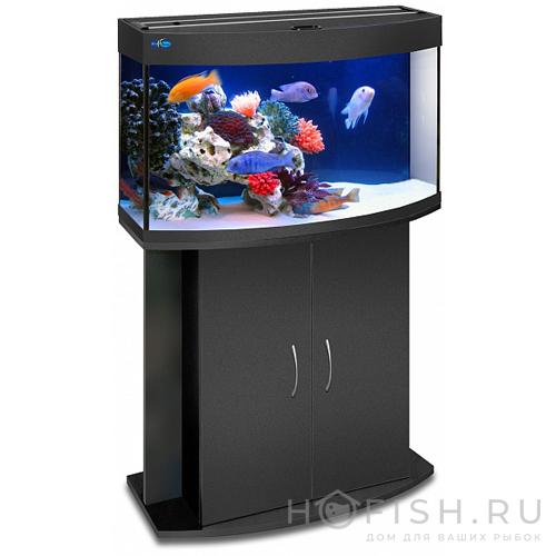 аквариум панорамный 98 литров
