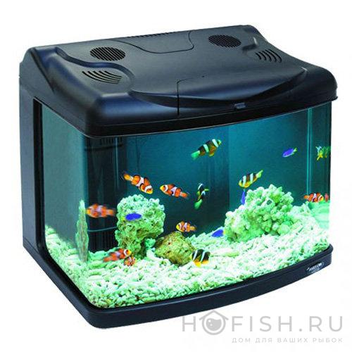 аквариум Hailea 65 литров черный