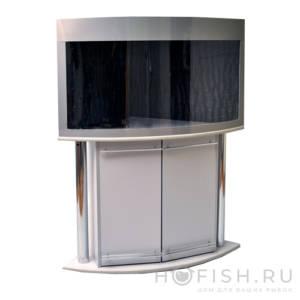 угловой панорамный аквариум