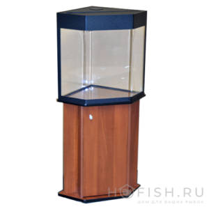 аквариум угловой со скошенными углами