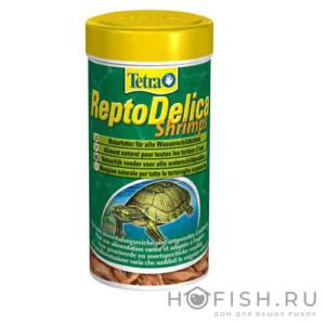 Корм для водных черепах TETRA ReptoDelica Shrimps деликатес из креветок