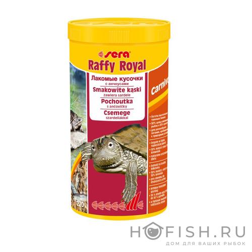 "Корм Sera ""Raffy Royal"" для водяных черепах и хищных рыб"