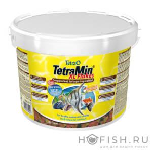 Универсальный корм для рыб TetraMin XL крупные хлопья 10 л