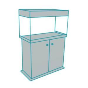 Прямой аквариум